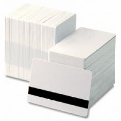 Zebra - tarjeta de banda magnética de alta coercitividad - 500 tarjeta(s) - CR-80 Card (85.6 x 54 mm)