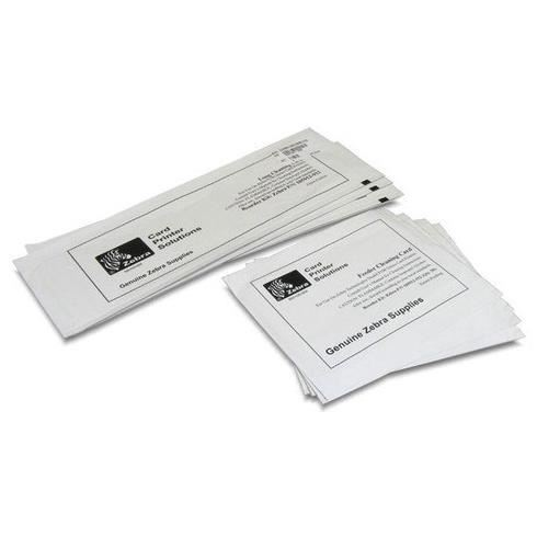 Zebra Cleaning Kit - paquete de 8 - kit de tarjeta para limpieza de impresora